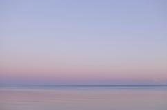 tła morza bałtyckiego zmierzch Zdjęcia Stock