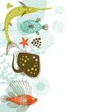 tła morze royalty ilustracja