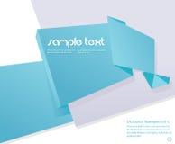 tła motyli origami papier przyczepiający target1515_0_ Zdjęcia Stock