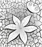tła motyliego kwiatu grey deseniujący royalty ilustracja
