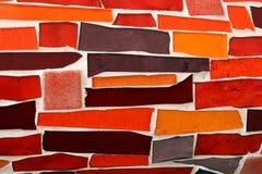 tła mozaiki ściana Zdjęcia Royalty Free