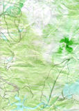 tła natury papieru romantyczna tekstura Obrazy Stock