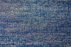tła niebieskich dżinsów tekstura Obrazy Stock