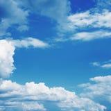 tła niebieskie niebo obrazy stock