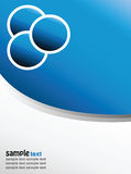 tła nowożytny błękitny Zdjęcie Royalty Free