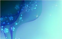 tła nowożytny błękitny royalty ilustracja