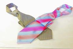 tła odosobniony krawata biel obraz royalty free