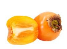 tła odosobniony persimmon biel obrazy royalty free