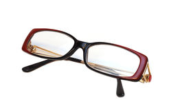 tła oka szkła odizolowywali biel Obraz Stock
