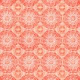 tła okręgu mandalas pomarańczowi Obrazy Royalty Free