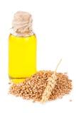 tła opadowy zarazka ilustraci olej stylizował pszenicznego biel Zdjęcie Royalty Free