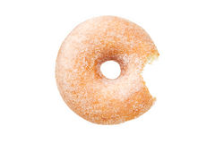 tła pączka pierścionku cukieru biel Obraz Stock