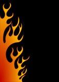 tła płomienia pomarańcze ilustracji