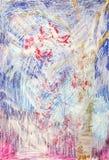 tła painterly zakłopotany Fotografia Royalty Free