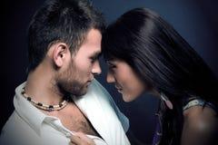 tła pary ciemna miłość Obrazy Royalty Free
