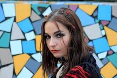 tła piękna kolorowy gothic Zdjęcie Royalty Free