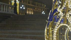 tła pięknej bożych narodzeń zamkniętej dekoraci ostrości selekcyjny up E r atmosfera świąteczna zdjęcie wideo