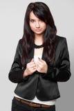 tła piękny czerń grey model Zdjęcie Royalty Free