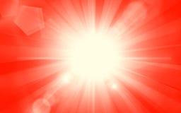 tła piękny lato sunburst Obraz Royalty Free