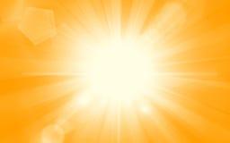 tła piękny lato sunburst Obrazy Stock