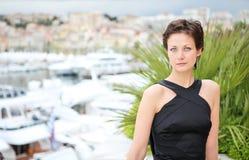 tła piękny marina model Zdjęcie Royalty Free