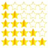 tła piękny złocisty ilustracyjny gwiazd wektor Zdjęcia Stock