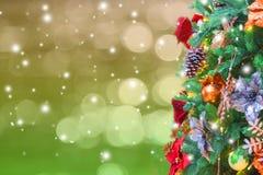 tła pięknych bożych narodzeń ilustracyjny drzewa wektor zdjęcia stock