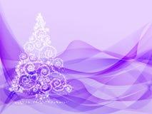 tła pięknych bożych narodzeń ilustracyjny drzewa wektor Obrazy Royalty Free