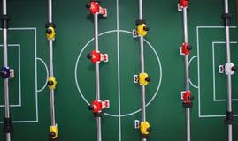 tła piłki nożnej stół Zdjęcia Royalty Free