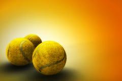 tła piłki tenis Obrazy Royalty Free