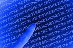 tła pieniądze target1792_0_ Obrazy Stock