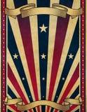 tła plakatowy retro szablonu rocznik Obrazy Royalty Free