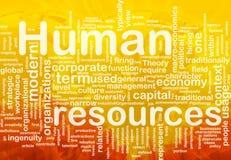 tła pojęcia dział zasobów ludzkich Zdjęcia Stock