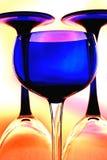 tła projekta glassware wino Obraz Stock