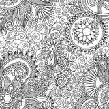 tła projekta kwiatu Paisley deseniowy bezszwowy tradycyjny ukrainian ilustracja wektor