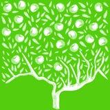 tła promieni zamknięty felling drzewo zamknięty ilustracji