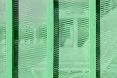 Tła prześcieradło metal zakrywający z liniami kółkowe dziury Obrazy Royalty Free