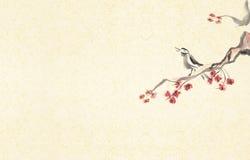 tła ptaka śpiew ilustracji