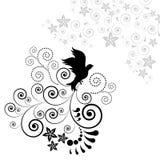 tła ptaka latanie Fotografia Royalty Free