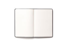 tła pustego miejsca książka odizolowywający otwarty biel Zdjęcie Royalty Free