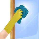 tła rękawiczek odosobniony gumowy biel ilustracji