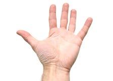 tła ręki biel obrazy royalty free