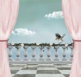 tła romantyczny piękny royalty ilustracja