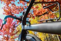 tła roweru węgla odosobniony drogowy biel Zdjęcia Royalty Free