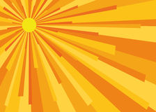 tła słońce Obrazy Royalty Free