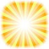 tła słońce Obraz Stock