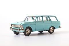 tła samochód odizolowywający zabawkarski biel Zdjęcia Royalty Free