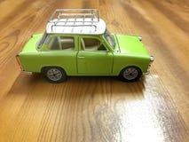 tła samochód odizolowywający zabawkarski biel Zdjęcie Royalty Free