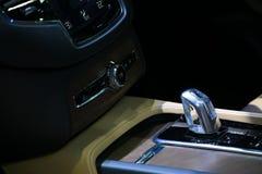 tła samochodowe głębii pola ostrości gearbox część spłycają Zdjęcia Royalty Free