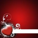 tła serca czerwień ilustracja wektor